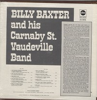 Billy Baxter - Billy Baxter And His Carnaby Street Vaudeville Band