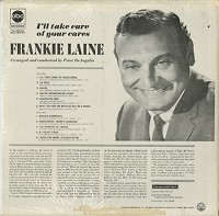 Frankie Laine - I'll Take Care Of Your Cares