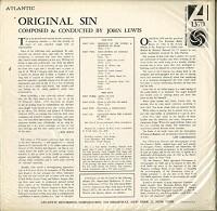 John Lewis - Original Sin