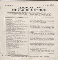 Bobby Short - Speaking Of Love