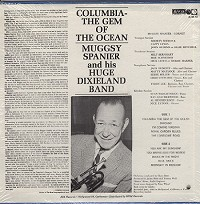 Muggsy Spanier And His Huge Dixieland Band - Columbia-The Gem Of The Ocean
