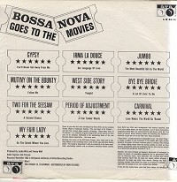 Harry Betts With The Bill Brown Singers - Bossa Nova Goes To The Movies