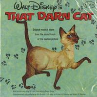 Walt Disney - That Darn Cat -  Sealed Out-of-Print Vinyl Record