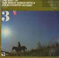 Various Artists - The Best Of The Great Songs With A Folk-Country Accent