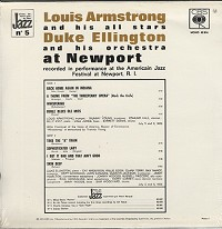 Louis Armstrong - Louis Armstrong And Duke Ellington At Newport