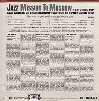 Various Artists - Jazz Mission To Moscow