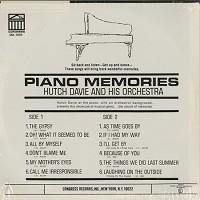 Hutch Davie And His Orchestra - Piano Memories