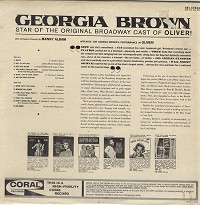 Georgia Brown - Georgia Brown
