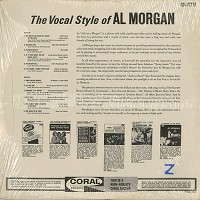 Al Morgan - The Vocal Style Of Al Morgan