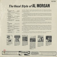 Al Morgan - The Vocal Style Of Al Morgan