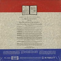 Winston Churchill - First Honorary Citizen Of The United States/2 LPs
