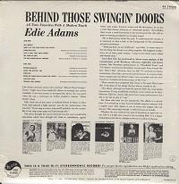 Edie Adams - Behind Those Swingin' Doors