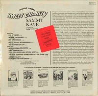 Sammy Kaye And His Orchestra - Music From Sweet Charity