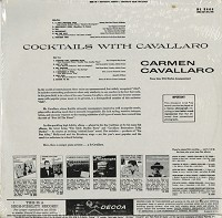 Carmen Cavallaro - Cocktails With Cavallaro