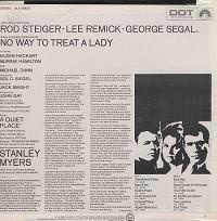 Original Soundtrack - No Way To Treat A Lady