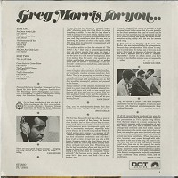 Greg Morris - For You?