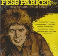 Fess Parker - Cowboy and Indian Songs