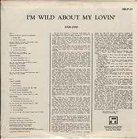 Various Artists - I'm Wild About My Lovin
