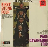 Kirby Stone Four/Page Cavanaugh Trio - Kirby Stone Four/Page Cavanaugh Trio