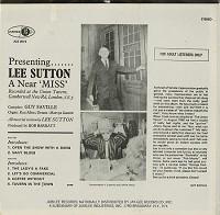 Lee Sutton - A Near Miss?