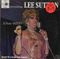 Lee Sutton - A Near Miss? -  Sealed Out-of-Print Vinyl Record