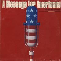 Original Radio Broadcast - A Message For Americans