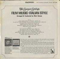 The Sunset Strings - Film Music-Italian Style