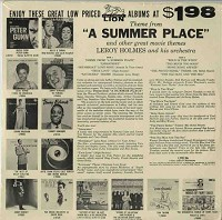 Leroy Holmes - Theme From A Summer Place