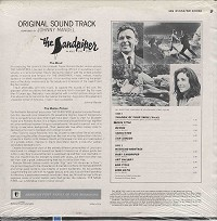 Original Soundtrack - The Sandpiper
