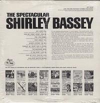 Shirley Bassey - The Spectacular Shirley Bassey