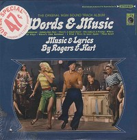 Original Soundtrack - Words And Music -  Sealed Out-of-Print Vinyl Record