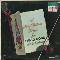 David Rose - A Merry Christmas To You -  Sealed Out-of-Print Vinyl Record