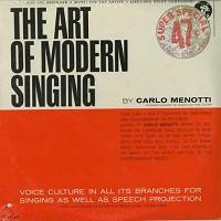 Carlo Menotti - The Art Of Modern Singing/2 LPs