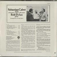 Sebastian Cabot - Sebastian Cabot, Actor -Bob Dylan, Poet/stereo