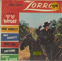 Walt Disney - Songs About Zorro and Other TV Heroes