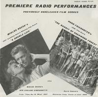 Original Radio Broadcast - Rozsa: A Double Life etc.