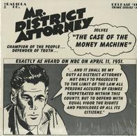 Original Radio Broadcast - Mr. District Attorney, F.B.I.