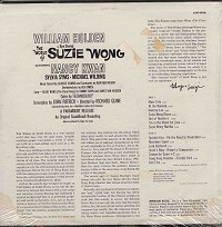 Original Soundtrack  - The World Of Suzie Wong