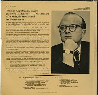 Truman Capote - Reads Scenes from