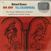 Krauss, Vienna Philharmonic Orchestra - Stauss: Don Juan, Till Eulenspiegel