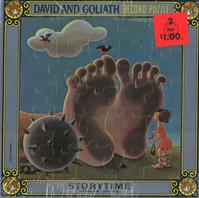 The London Theatre Players - David and Goliath Record Puzzle -  Sealed Out-of-Print Vinyl Record