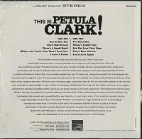 Petula Clark - This Is Petula Clark