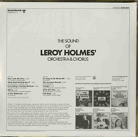 Leroy Holmes - The Sound Of Leroy Holmes' Orchestra And Chorus