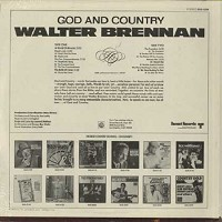 Walter Brennan - God and Country