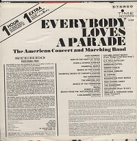 The American Concert And Marching Band - Everybody Loves A Parade