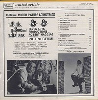 Original Soundtrack - The Birds, The Bees, and the Italians