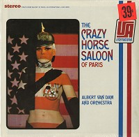 Albert Van Dam And Orchestra - The Crazy Horse Saloon Of Paris