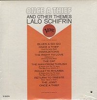 Lalo Schifrin - Once A Thief And Other Themes