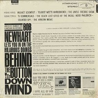 Bob Newhart - Behind The Button-Down Mind/stereo