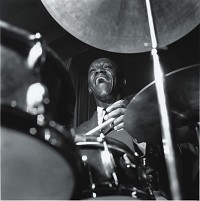 Francis Wolff - Art Blakey - At Cork & Bib - Long Island, 10/58 -  Photo Print